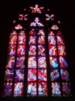 Glass Mosaic - St. Vitus Cathedral by Rayelity