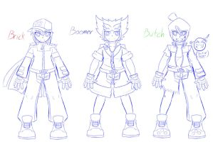 Draft Idea of the RRBD Boy's Clothing get up by NeoEdensKing