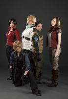 RE6 Group by BleachcakeCosplay