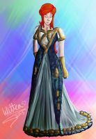 Pheonix Party Dress by WitTea