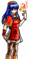 Lilina the Mage by OutOfTheOrange
