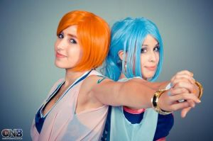 Nami and Vivi Nefertari Cosplay II. by Candustark