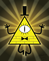 Bill Cipher by AleximusPrime