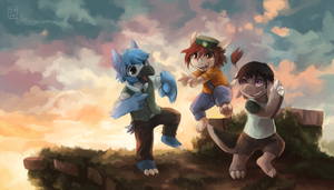 Monster Story Banner by Middroo
