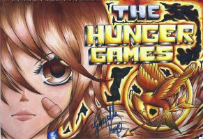 The Hunger Games Katniss Everdeen by GyggzyChan