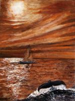 Moonlighting With The Whales by ThisArtToBeYours