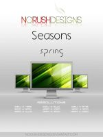 Seasons: Spring by NoRushDesigns