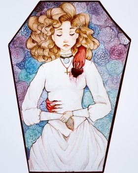 The devils bride  by leahmdoesart