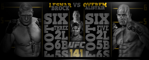 Ufc 141 PREDICTION COMPETITION BANNER by Mohamed-Fahmy