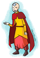 aang i like your dress by ShinyVulpix