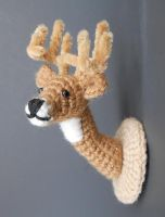 Deer Head Mount by Pickleweasel360