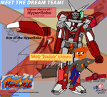 Boxdude and HyperRobo Seires Poster by CreativeArtist-Kenta
