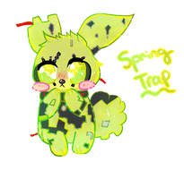 SpringTrap by BlushingEevee