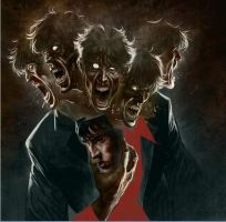 Dylan Dog Cover by ChristopherPossenti