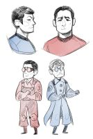 science party of star trek by Kethavel