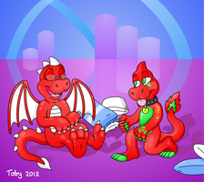 Dragon Feet Commission by Toby512