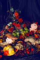 over abundance still life by reminisense
