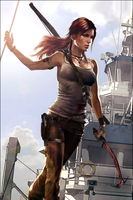Photoshopped Comic Cover by TombRaider-Survivor