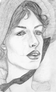 Anne Hathaway by vindicatedmess