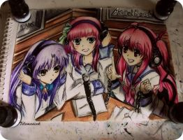 angel beats by Telemaniakk