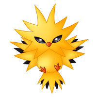 Zapdos by RaineLi