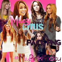 Pack PNG Miley by MyPinkFriday