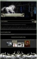 The Hunt CSS Template by CyprithTheCat