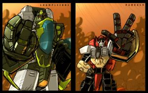 the Cybertron Tag Team by shumworld