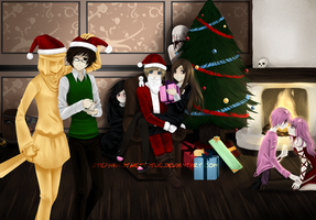 Merry Christmas 2012 by StephanoTheStatue
