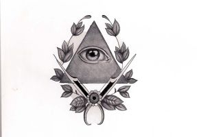Illuminati Tattoo Design by Hausofch
