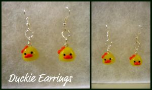 Duckie Earrings by XXSaturnNinjaSGXX