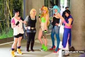 The Ladies of DBZ by CheesyHipster