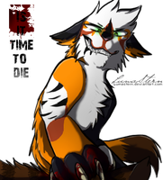 Psycho Face- Is it time to DIE! by LumaStern
