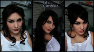 Belle - OUAT - Wig and make up Test by Thara-Wood