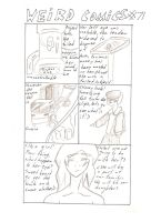 Weird Comics #71 Project. Ava Part 1 by Hakuru15