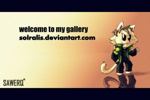 Welcome to my Gallery by solralis