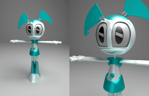 Jenny model WIP by Wickfield