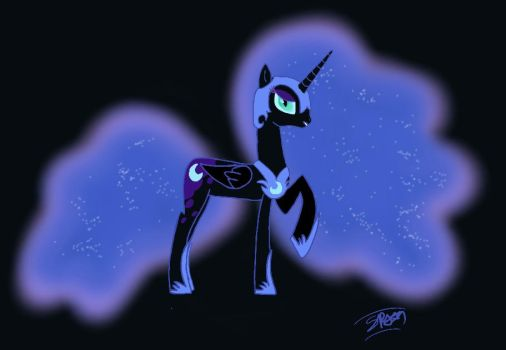 Nightmare Moon (New) by RadianceDashZelda