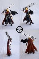 custom KH1 Cloud action figure by SomaKun