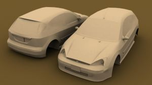 2001 Ford Focus ZX3 WIP by ExtraNoise