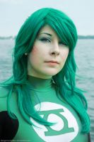 Aquatic Green Lantern by dangerousladies