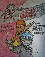 The Gorillaz of the Dead: Overkill by Fil101
