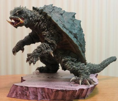 Kaibutsuya Nghtmare Gamera Base Part 1 by Legrandzilla