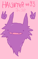 MOUSE DRAWN Haunter by SpaceWaffleDelivery