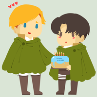 SnK: Happy Birthday by Popo-Licious