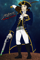 John Hancock, Space Pirate by Delinquent-Unicorn