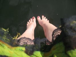 Feet and Lace. by InvertedTurkey-Stock