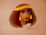Asenath Sketch by SummersWorld