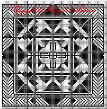 3 - free chart for filet crochet by elore