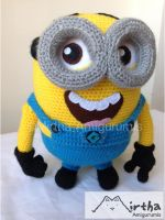 minion  Despicable me by Mirtha Amigurumis by MirthaAmigurumis